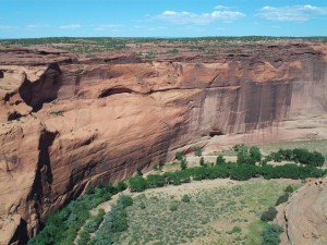 Canyon de Chelly White House Ruins Far Look