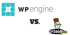 wpengine vs godaddy 300x149 Godaddy vs. WP Engine   My Results from Moving Hosting