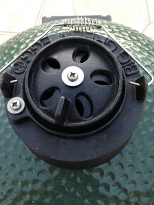 daisy wheel open halfway 225x300 Big Green Egg: How to Control Temperature