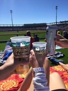 Cold Beers at Peoria Sports Complex