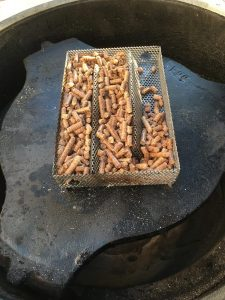 Setting up the Amazen Smoker for Cheese with Apple Pellets