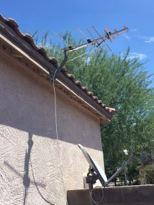 HDTV Antenna on roof