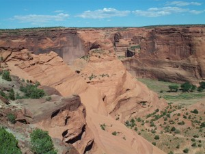 Canyon de Chelly South Rim Overlook