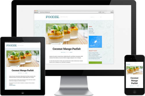 Foodie Responsive WordPress Theme