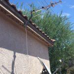HDTV Antenna on roof